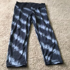 Danskin Black and Gray leggings